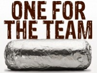 One for the Team at Chipotle